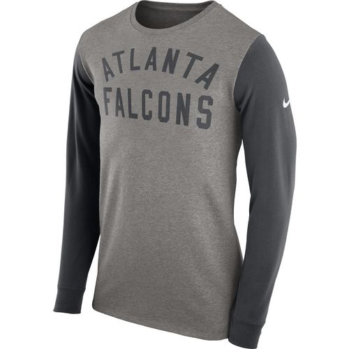 Nike Men's Atlanta Falcons Heavyweight Long Sleeve T-shirt