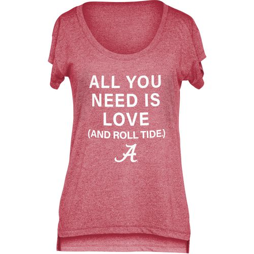 Chicka-d Women's University of Alabama Scoop-Neck T-shirt