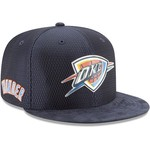 New Era Men's Oklahoma City Thunder 9FIFTY On Court Snapback Cap - view number 4
