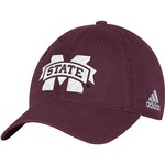 adidas Men's Mississippi State University Big Logo Slouch Adjustable Cap - view number 1