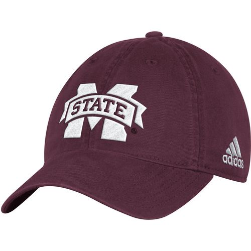 adidas Men's Mississippi State University Big Logo Slouch Adjustable Cap