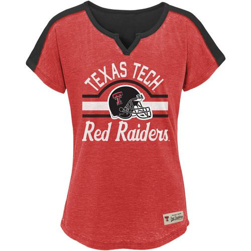 Gen2 Girls' Texas Tech University Tribute Football T-shirt