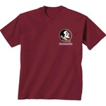 New World Graphics Women's Florida State University Comfort Color Puff Arch T-shirt - view number 2