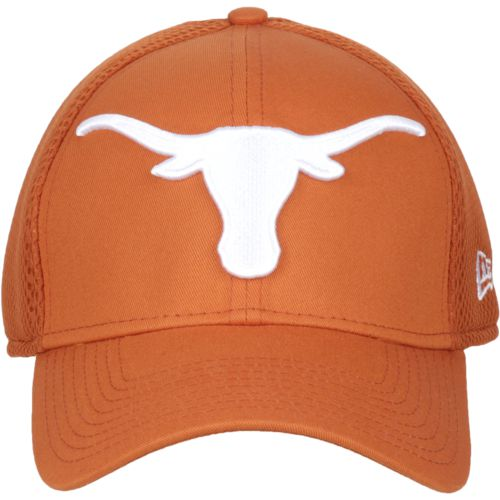 New Era Men's University Texas 39THIRTY Mega Team Neo Cap