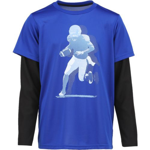 BCG Boys' Football Player Long Sleeve Training T-shirt