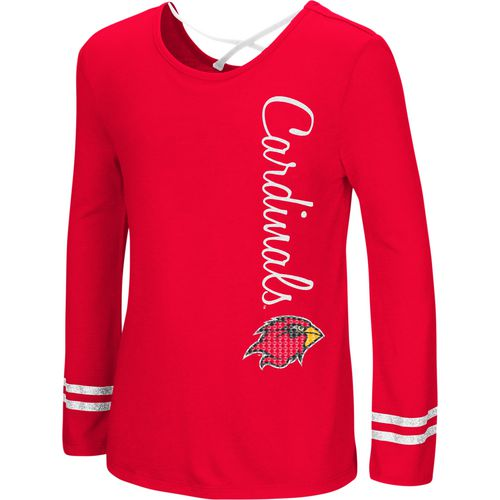 Colosseum Athletics Girls' Lamar University Marks the Spot Strappy Back Long Sleeve T-shirt