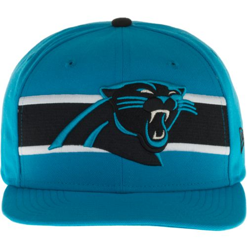 New Era Men's Carolina Panthers 9FIFTY Victory Stripe Cap
