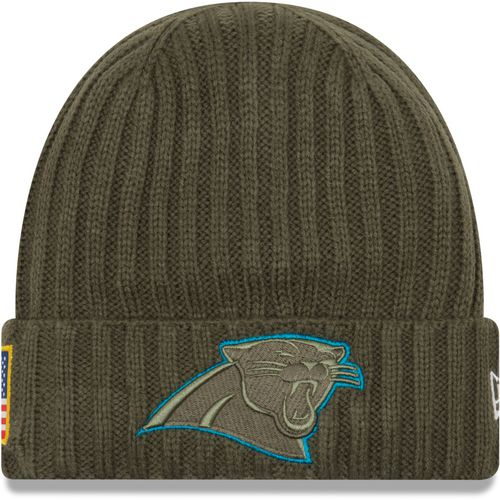 New Era Men's Carolina Panthers Salute to Service '17 Knit Cap