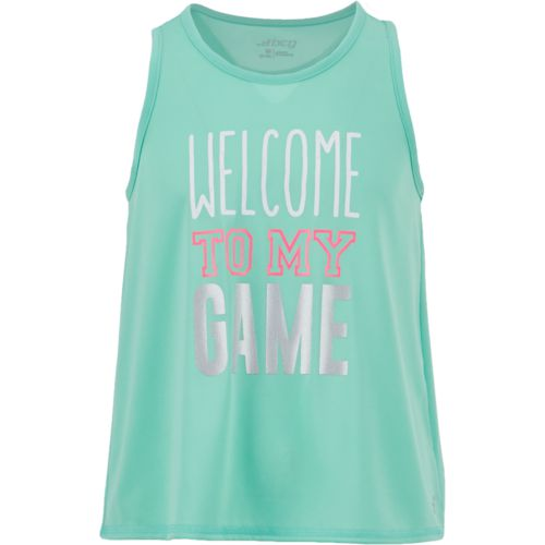 BCG Girls' Welcome to My Game Graphic Tank Top