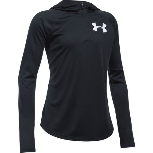 Under Armour Girls' UA Tech 1/4 Zip Hoodie - view number 1