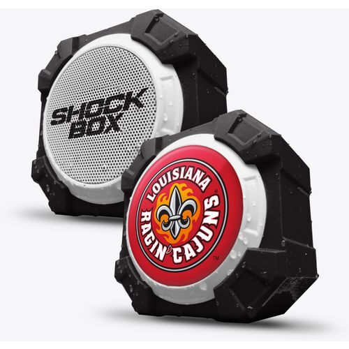 Mizco University of Louisiana at Lafayette Bluetooth Shockbox Speaker