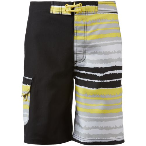 O'Rageous Boys' Blur Stripe True Boardshorts