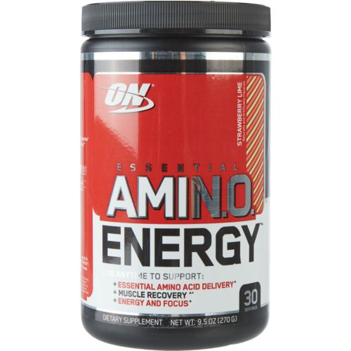 Display product reviews for Optimum Nutrition Amino Energy Supplement