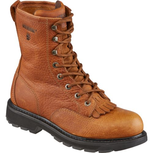 Wolverine Men's Steel-Toe 8 in Kiltie Lacer Boots - view number 2