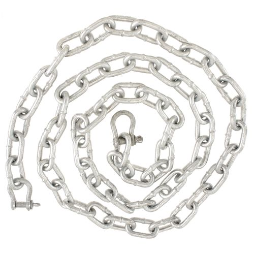 Danforth® Galvanized Anchor Chain and Shackle - view number 1