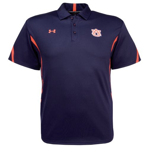 Under Armour® Men's Auburn University Sideline Polo Shirt