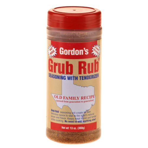 Gordon's Grub Rub® Seasoning with Tenderizer