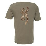 Browning Men's Buckmark Shells Short Sleeve Graphic T-shirt