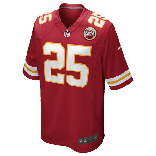Nike Men's Kansas City Chiefs Jamaal Charles 25 Game Jersey