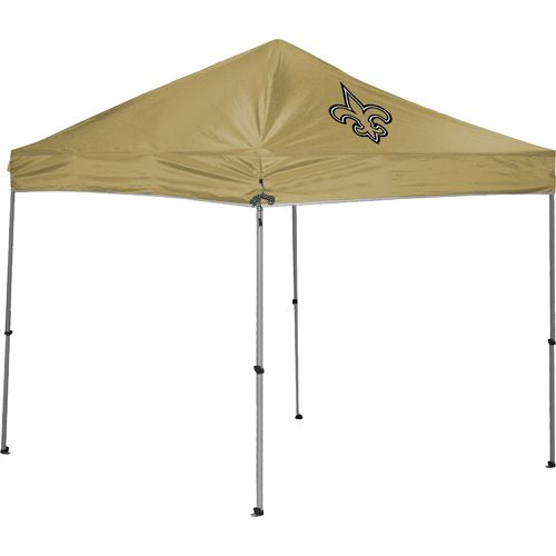 K2 Licensed Products New Orleans Saints Straight-Leg 9' x 9' Canopy