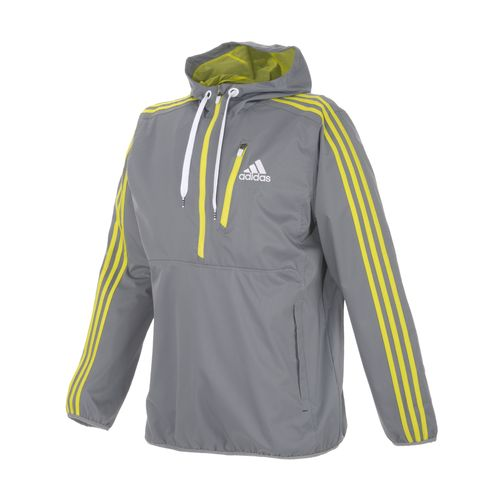 adidas Men's Ultimate Woven Half-Zip Hoodie