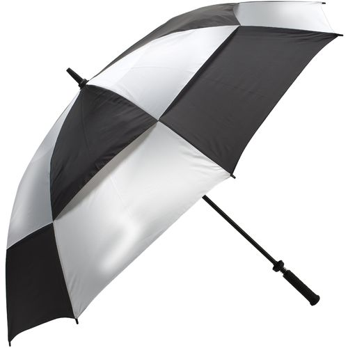 Golfmate® 5' Ultraviolet Silver and Black Umbrella