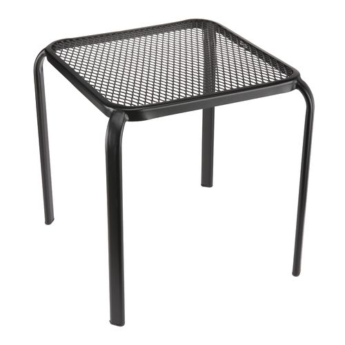 "Mosaic 16"" Steel Mesh Side Table"