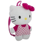Hello Kitty Girls' Plush Backpack