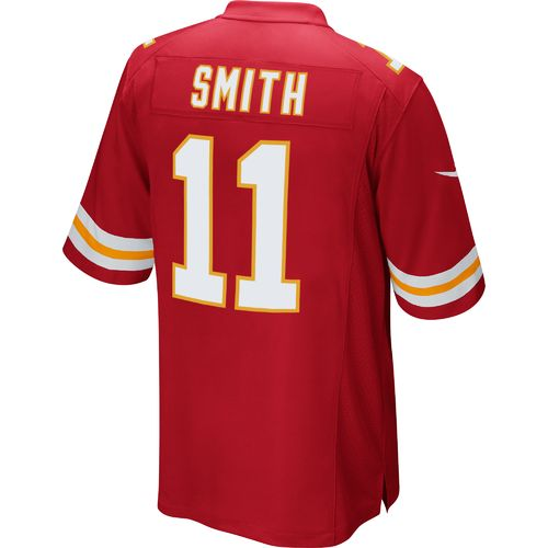 Nike Men's Kansas City Chiefs Alex Smith #11 Game Jersey - view number 2
