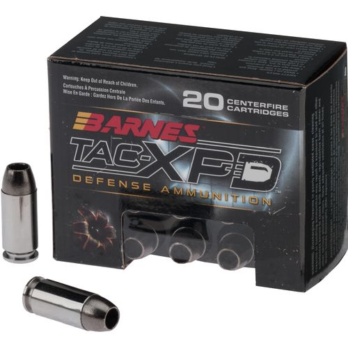 Display product reviews for BARNES® TAC-XP .40 S&W 140-Grain Bullets