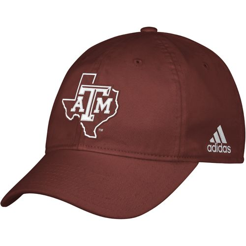 adidas™ Men's Texas A&M University Camp Slope Cap
