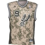 adidas Men's San Antonio Spurs Tony Parker #9 Revolution 30 Replica Jersey