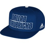 adidas Men's Dallas Mavericks Authentic Draft Cap