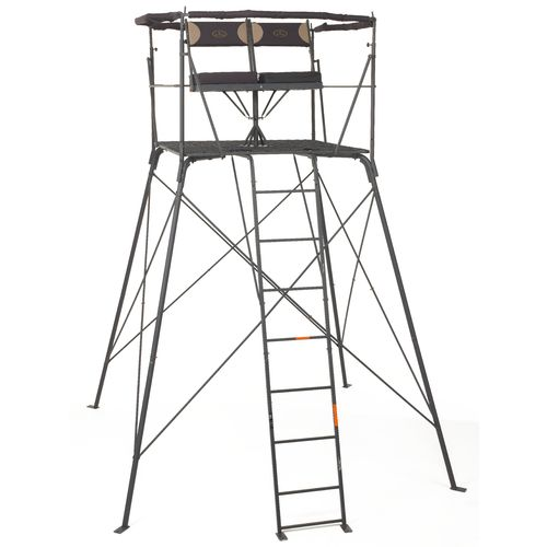 Game Winner® 2-Person Quad Rotating Treestand