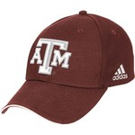 adidas Adults' Texas A&M University Structured Cap