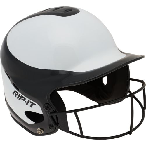 RIP-IT Fit Gloss Fast-Pitch Helmet with Vision Pro