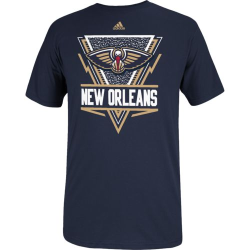 adidas Men's New Orleans Pelicans Full Primary Logo T-shirt