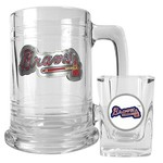 Great American Products Atlanta Braves Boilermaker Gift Set