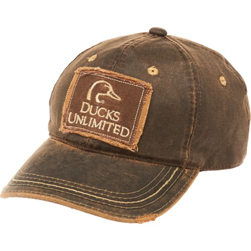 Ducks Unlimited Men's Hard Pigment Dyed Twill Cap - view number 1