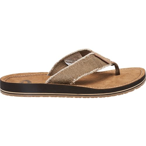 O'Rageous Men's Fray Thong Sandals - view number 1
