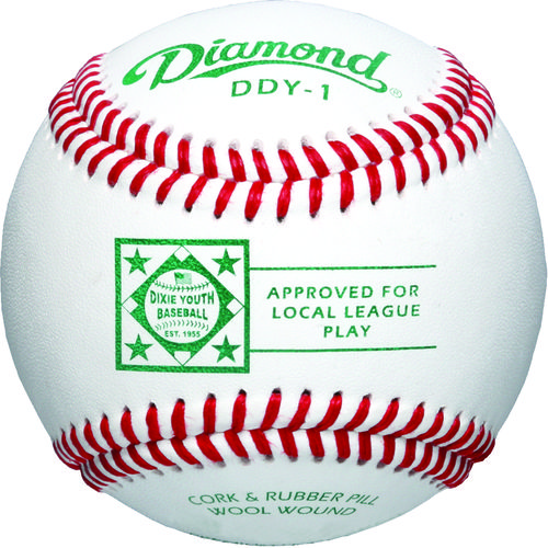 Diamond Dixie Youth® Competition-Grade Baseballs 12-Pack