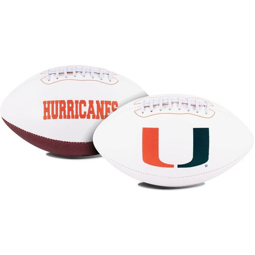 Jarden Sports Licensing University of Miami Signature Series Full Size Football with Autograph Pen - view number 1