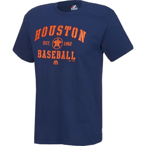 Majestic Men's Houston Astros AC Classic T-shirt - view number 1