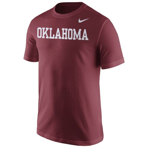 Nike™ Men's University of Oklahoma Wordmark T-shirt