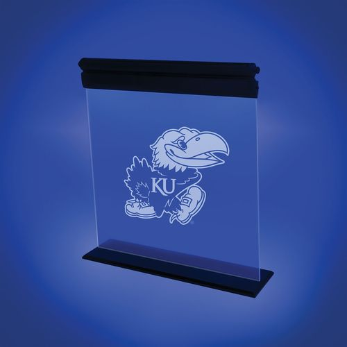 AES Optics University of Kansas Acrylic LED Light