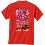 New World Graphics Women's Texas Tech University Cuter in Team T-shirt