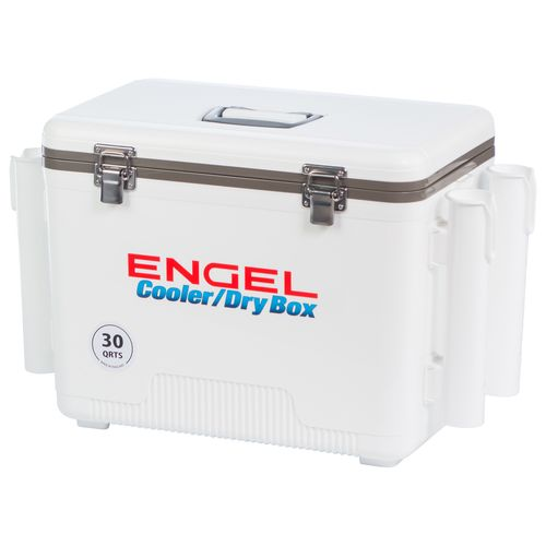 Engel 30 qt Cooler/Dry Box with Rod Holders - view number 6