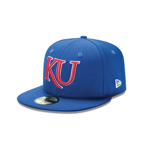 New Era Men's University of Kansas 59FIFTY Cap