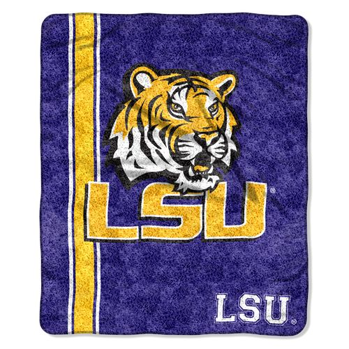 The Northwest Company Louisiana State University Jersey Sherpa Throw