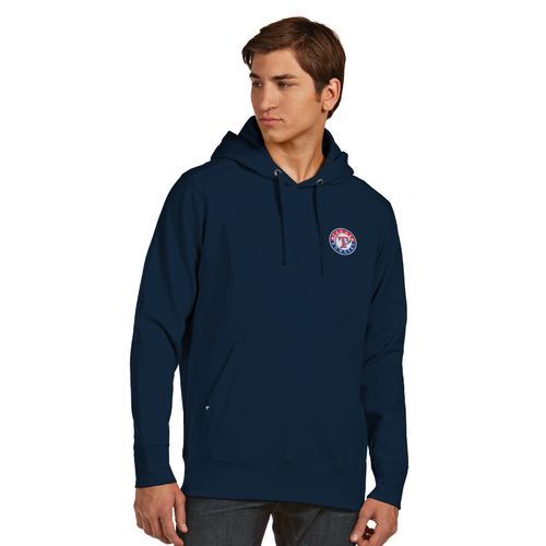 Antigua Men's Texas Rangers Signature Pullover Hoodie